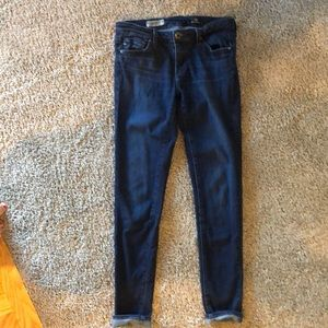 Adriano goldschmied super skinny ankle jeans